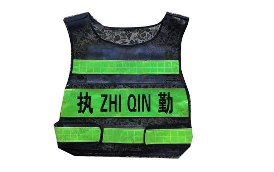 无缝缝合反光衣(4)